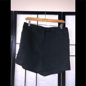 Pants - BLACK DRESSY SHORTS